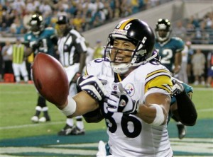 Touchdown Hines Ward!