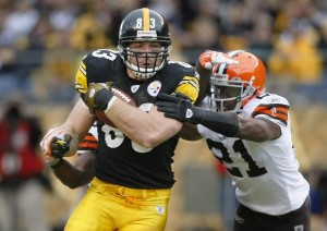 Steelers TE Heath Miller