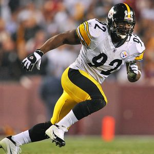 Steelers LB James Harrison