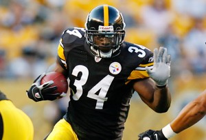 Steelers RB Rashard Mendenhall